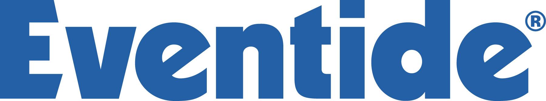 Eventide logo blue