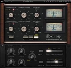 dbx® 160 Compressor / Limiter