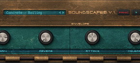 Soundscapes vol1 au vst gui