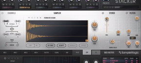 Samplemagic stacker userinterface pluginboutique
