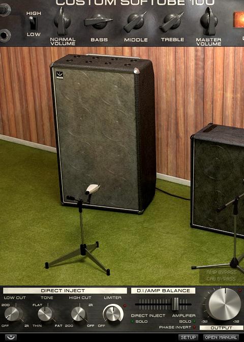 content bar screenshot2 - Softube Volume 1 Upgrade from Summit Audio EQF-100
