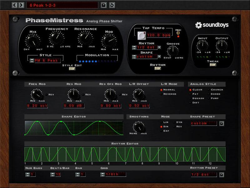 content phasemistress rhythm tweak - PhaseMistress