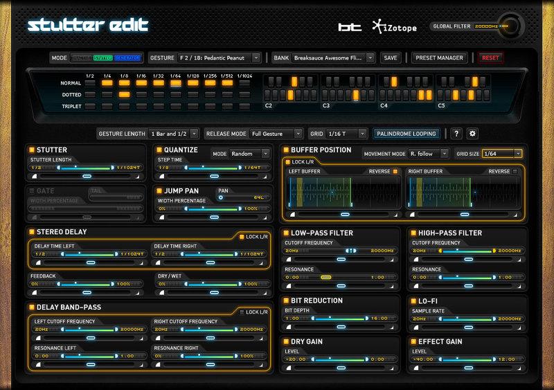 content stutteredit plugin ui pluginboutique - Creative MIDI Collection