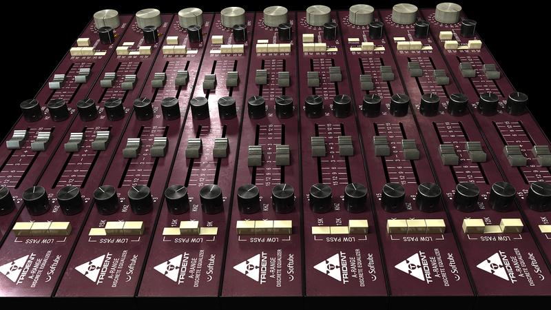 content tridentarange image pluginboutique - Softube Volume 1 Upgrade from Summit Audio EQF-100
