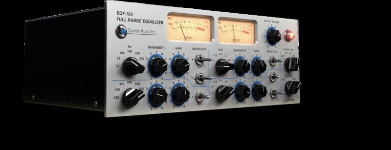 content eqf100 hires1 pluginboutique - Softube Volume 1 Upgrade from Summit Audio EQF-100