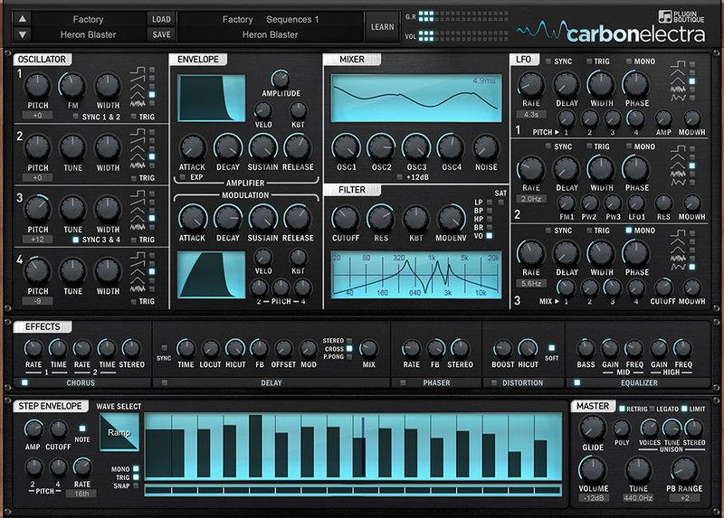 content carbon electra hd1000 1 - Drum & Bass Bundle