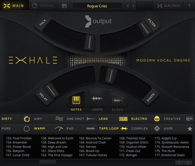 content exhale main - Output EXHALE+ Bundle