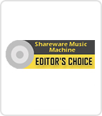 Shareware music machine editor's choice award