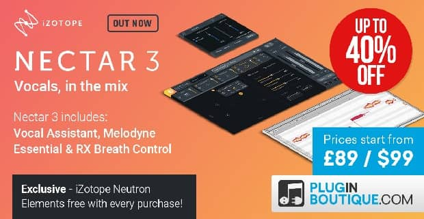 Izotope nectar 3 plugin boutique
