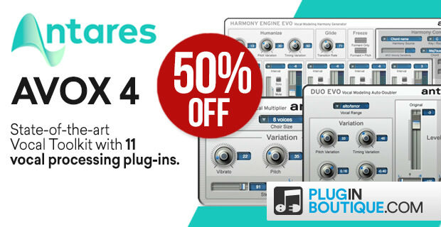 ANTARES HOLIDAY SALE - Save at Plugin Boutique