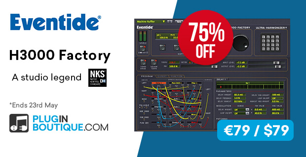 Eventide H3000 Factory Flash Sale: Save at Plugin Boutique