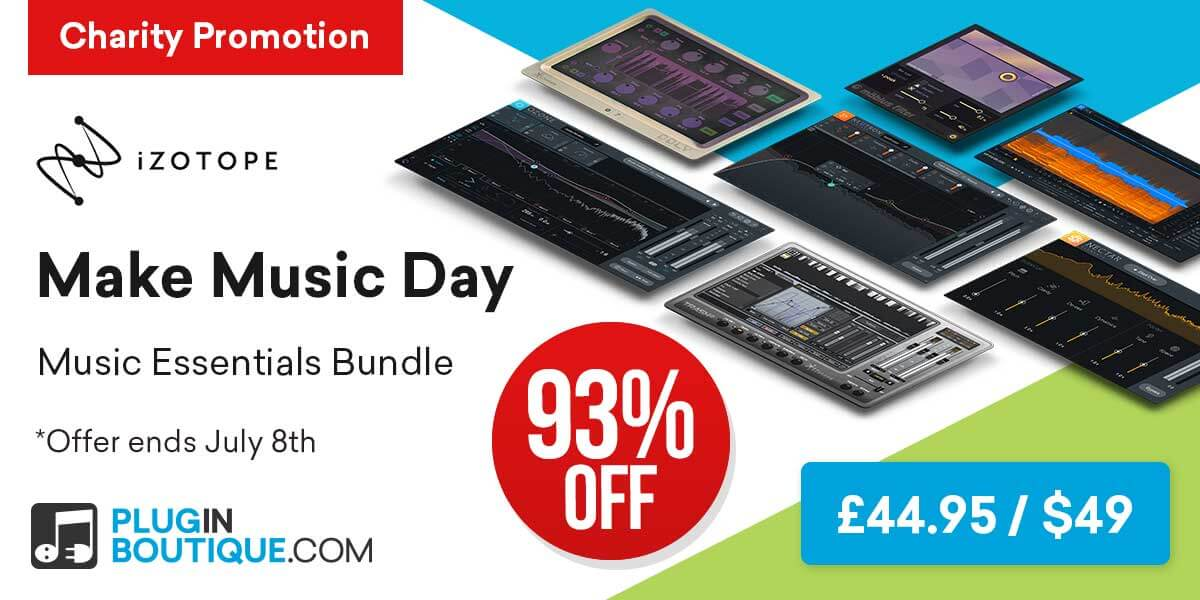 1200x600 izotope make music day plugin boutique