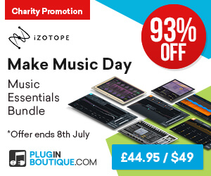 300x250 izotope make music day plugin boutique