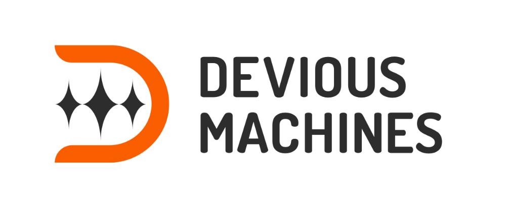 Devious logo solid light 2x