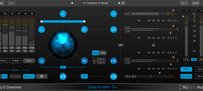 Halodownmix  5.1 advanced ui pluginboutique